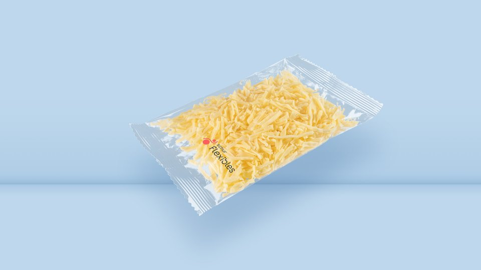 PE flowpack grated cheese