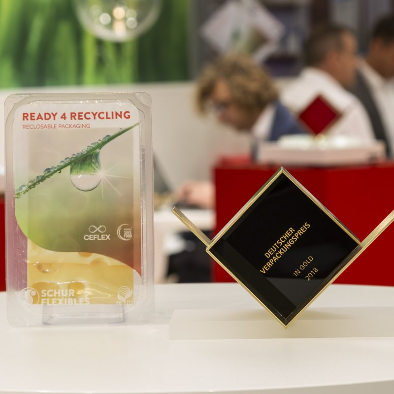 German Packaging Award in Gold for FlexiClose(re)
