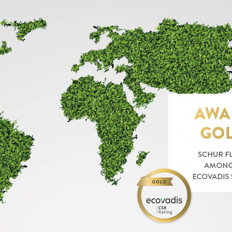 EcoVadis Gold Medal for Schur Flexibles Dixie