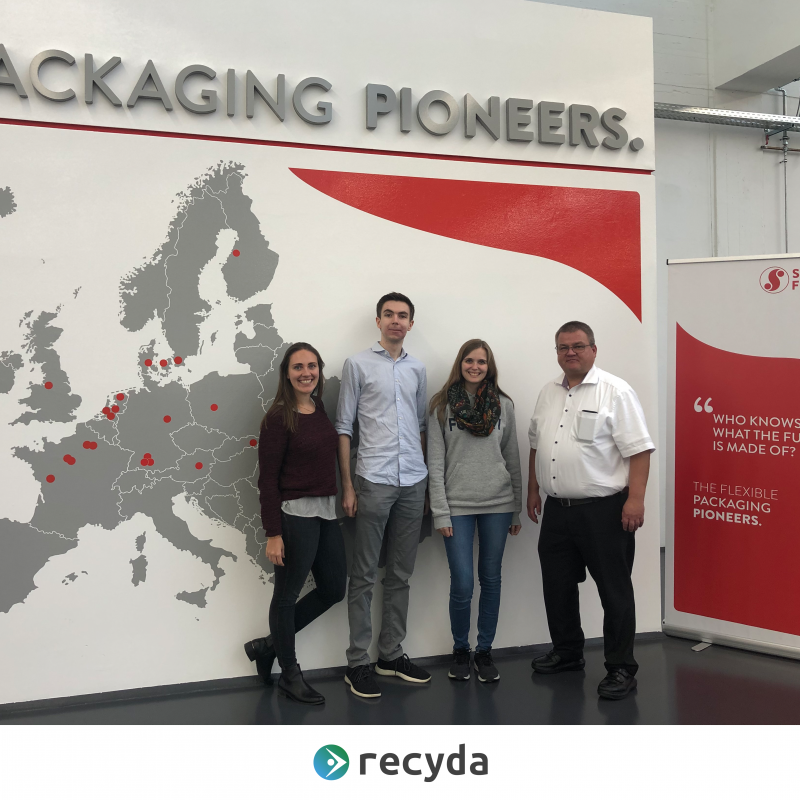 Schur Flexibles cooperation with Recyda
