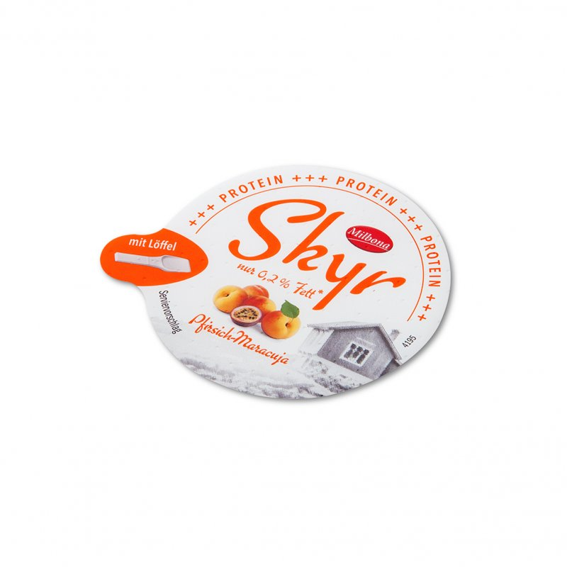 Die Cut Lids for cheese and dairy